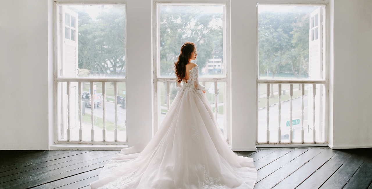 Bridefully Yours Weddings Gowns In Singapore,Altering Wedding Dress